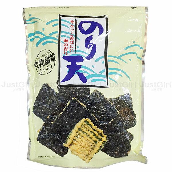 日本 丸嘉 井上瀨戶 海苔天婦羅 紫菜餅乾 炸海苔餅乾 食品 日本製造進口 * JustGirl *