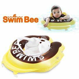 【淘氣寶寶】韓國【Swimbee】嬰幼蜜蜂學習泳圈 (附遮陽棚-大童)【品質有保證】