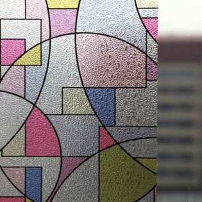 【靜電磨砂玻璃貼-寬90cm-長100cm-1張組】窗貼玻璃貼免膠透光不透明-7101001
