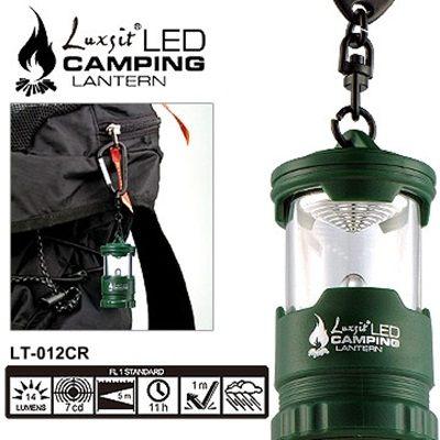 露營用品Luxsit LED mini露營燈(綠色#LT-012CR)【AH07044】i-Style居家生活
