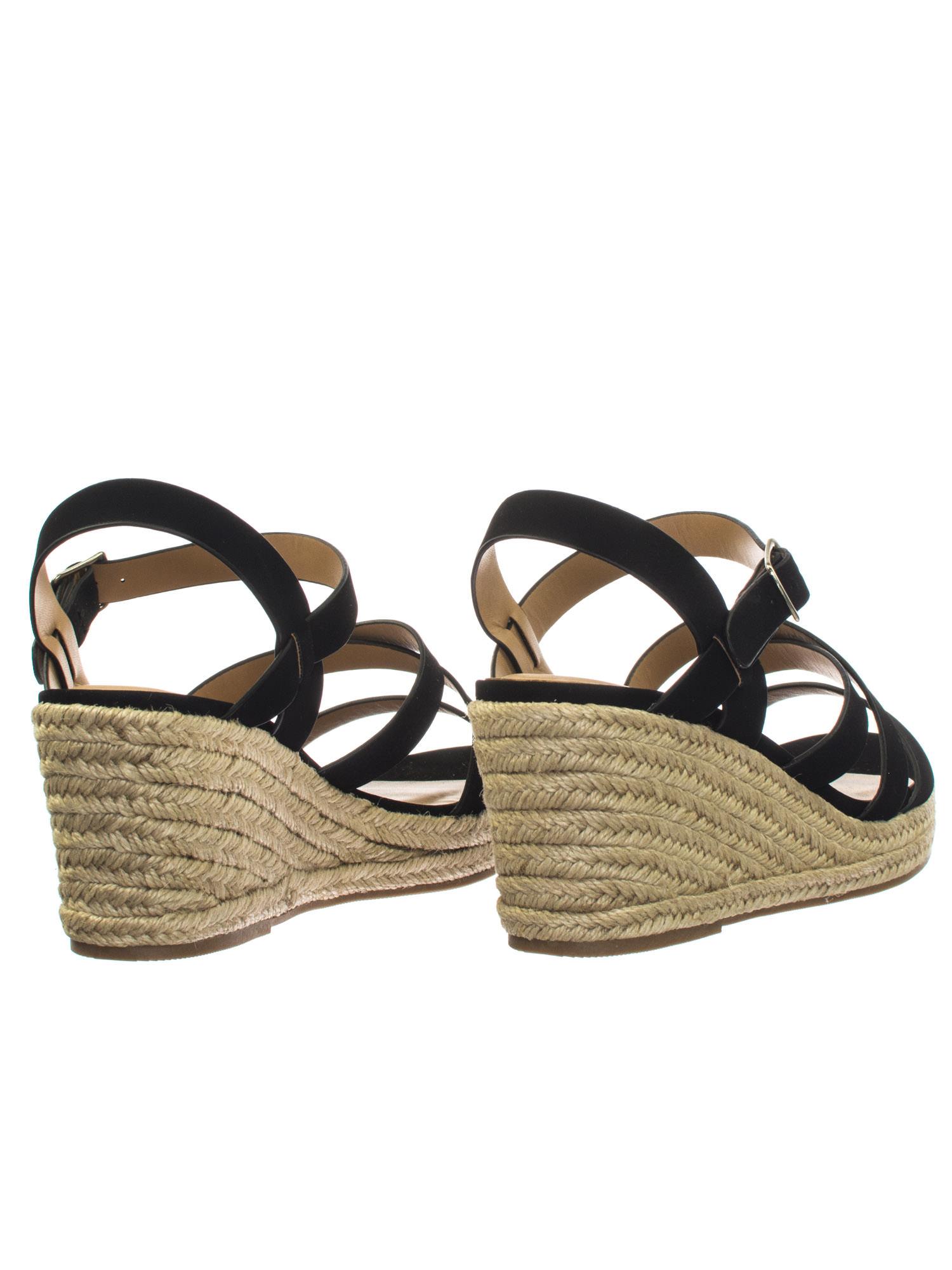 de1c882b64d Jubilee Black by City Classified Espadrille Rope Jute Wrap Platform Wedge  Open Toe Dress Sandal 3