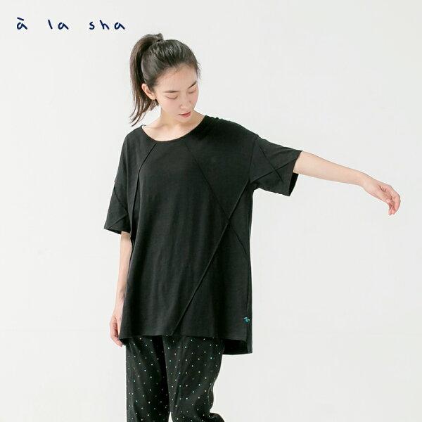 àlashaQummi立體褶造型創意上衣