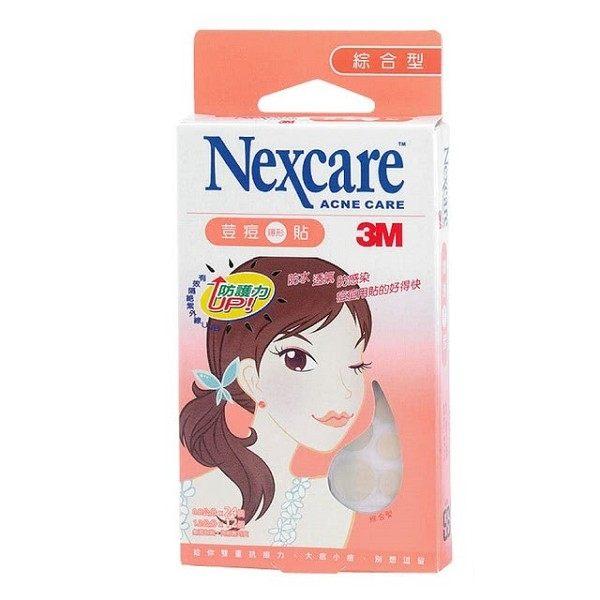 3MNexcare荳痘隱形貼綜合型36片盒★愛康介護★