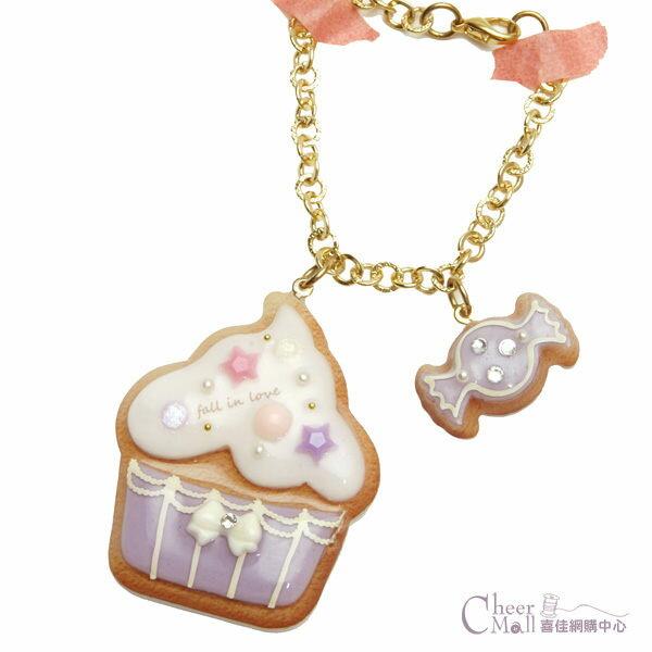 UV水晶膠-糖霜餅乾吊飾材料包-杯子蛋糕-CRP-67