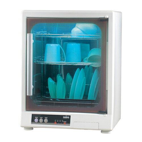【SAMPO聲寶】三層光觸媒紫外線烘碗機KB-GD65U