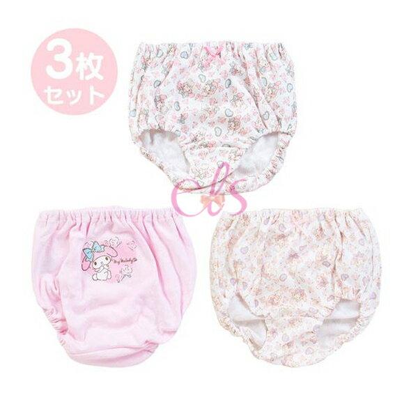 日本 MELODY 美樂蒂 純棉內褲 3入 三款尺寸供選 ☆艾莉莎ELS☆