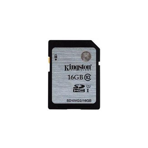 Kingston 16GB SDHC 45MB/s UHS-I U1 Class 10 16G SD C10 full HD Flash Memory Card SD10VG2/16GB