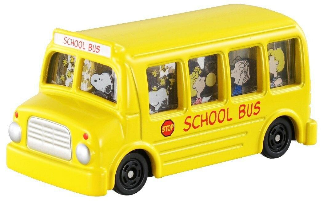 【真愛日本】13061200003 TOMY車-史努比巴士 史奴比 史努比 SNOOPY 模型車 模型玩具 正品