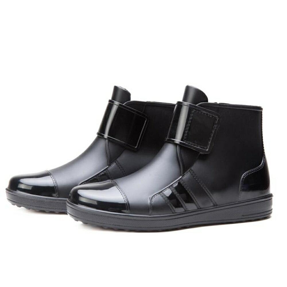 短筒雨鞋男雨靴膠鞋防滑水鞋
