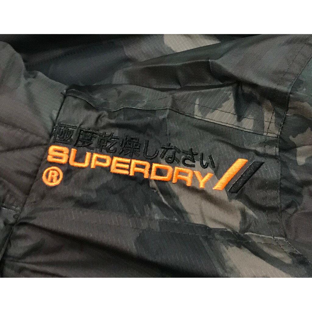 Superdry 極度乾燥外套 男款 內刷毛三拉鍊連帽夾克 防風防潑水 3色 英國正品現貨 6