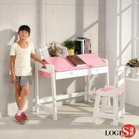 學生書桌/兒童書桌推薦推薦到LOGIS創造力彩色實木書桌椅 小學生桌椅 閱讀繪畫 學生書桌 實木桌 BE80R就在LOGIS邏爵家具推薦學生書桌/兒童書桌推薦