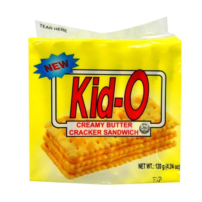 Kid-O 日清 奶油 三明治(奶素) 120g【康鄰超市】
