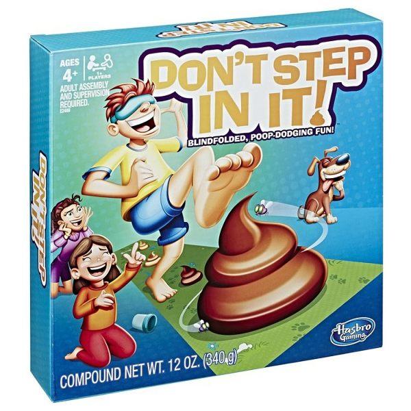 《MB智樂遊戲》派對桌遊-不要踩到它Don'tstepinit