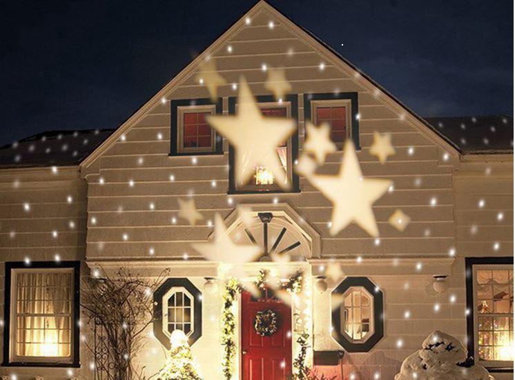 美琪 (聖誕派對)??露營~野餐好氣氛星星投影燈 led草坪?????聖誕燈滿天星星