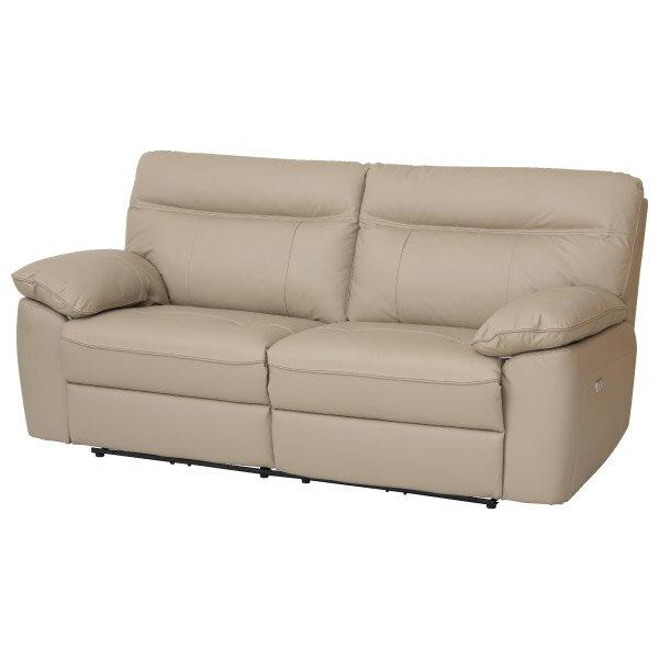 ◎半皮3人用電動可躺式沙發 STONE MO NITORI宜得利家居 1