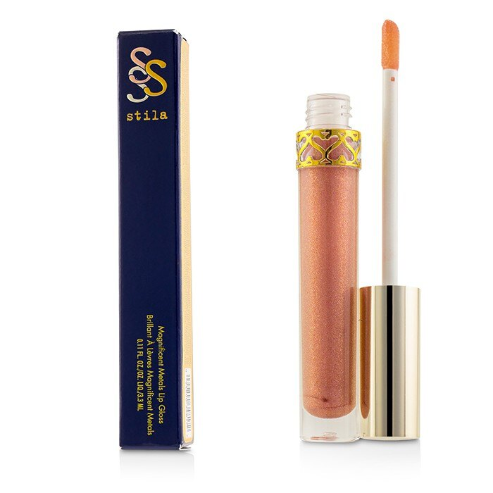Stila 詩狄娜 唇蜜Magnificent Metals Lip Gloss - # Rose Quartz 3.3ml 0.11oz