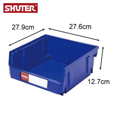 樹德 HB-235  耐衝擊分類置物盒 / 可堆疊零件分類箱 ( 箱購24入 )