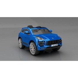 【加贈優活太空包面紙(80抽*96包/1箱)】保時捷 Porsche W416QHG4 雙驅兒童電動車 藍色 【淘氣寶寶】