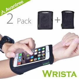【速捷戶外】Avantree Wrista 運動手機袖套(二入組) 前臂套 腕套 臂套 iPhone66S 等4.7吋以下手機可用