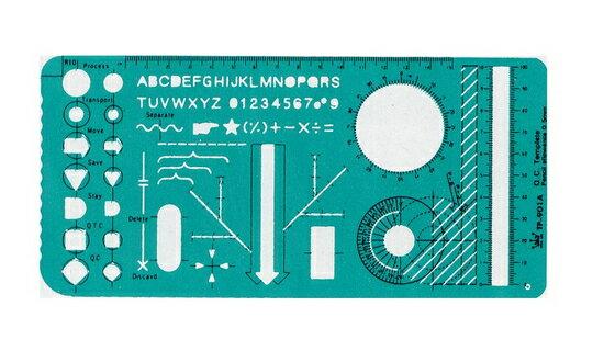 徠福 品質管理定規 TP-901A / 片