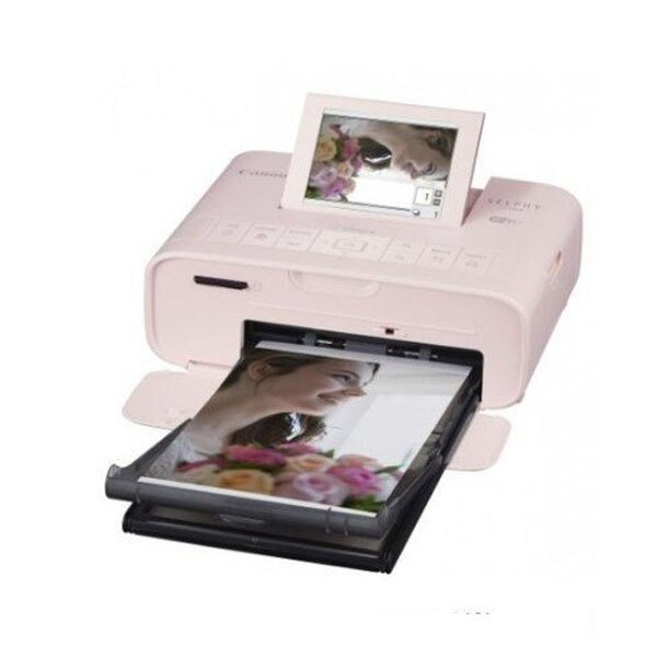 CANON SELPHY CP1300 粉色 行動相片印表機  台灣佳能公司貨 內含54張相紙
