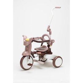 【淘氣寶寶】DEDE BABY 兒童折疊三輪車(折疊款-粉色)【類iimo】雨傘另購590元