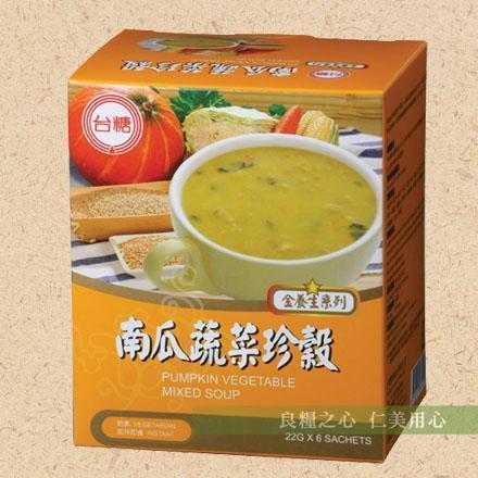 台糖 南瓜蔬菜珍穀(6包/盒)