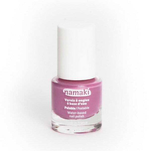 法國 namaki  幼兒專用可撕式水性指甲油 - 玫瑰粉