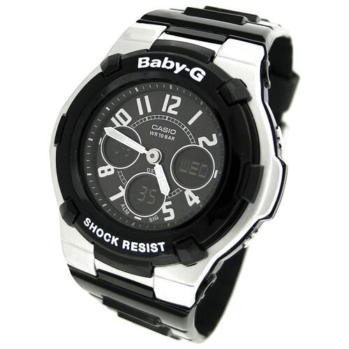 Casio Baby-G Ladies Watch BGA110-1B2C 1