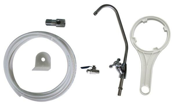【大墩生活館】美國EverpureH104二道不銹鋼吊片淨水器《生飲級》搭配NSF濾心+全配件超值價2836元。