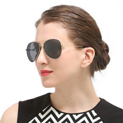 墨鏡金屬框彩色鏡片時尚大框太陽眼鏡【KS8701】BOBI0315