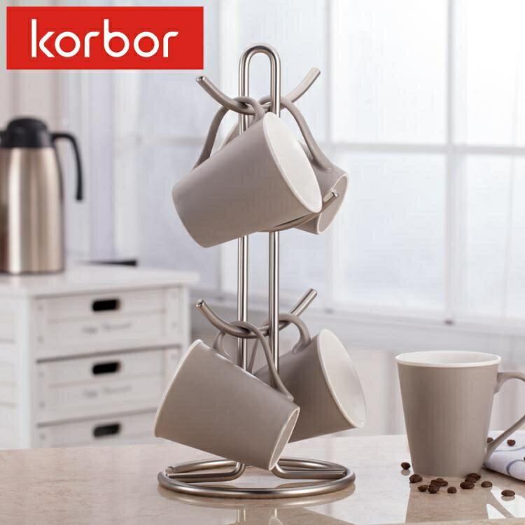 杯架 korbor 馬克杯架水杯掛架咖啡杯架紅酒玻璃杯架廚房置物架茶杯架yh