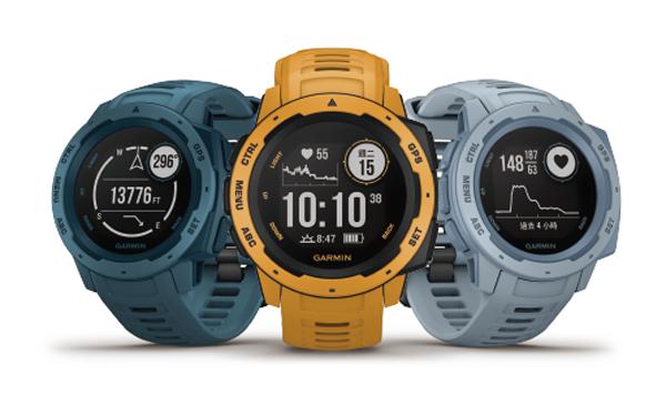 Garmin INSTINCT 本我系列 軍用規格防水戶外多功能GPS腕錶『免運』內建血氧感測 贈9H鋼化保貼