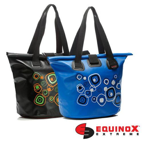 【露營趣】EQUINOX 防水 托特包 (幾何) 防水包 媽媽袋 肩背袋 手提袋 購物袋 休閒包 海灘包 111827