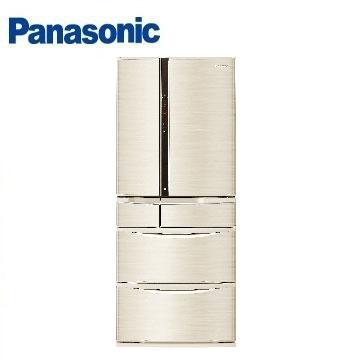 Panasonic國際牌NR-F602VT六門變頻冰箱(601L)(香檳金)※熱線:07-7428010