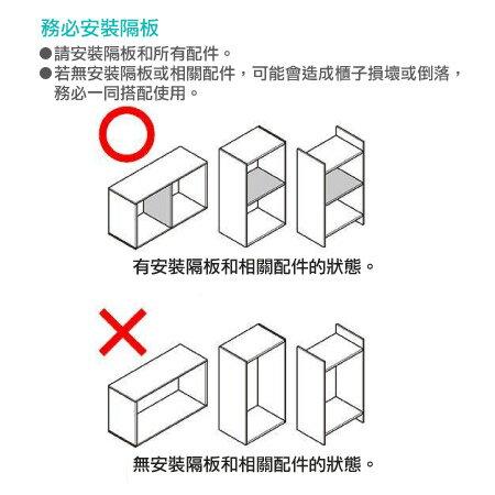 【DIY】45cm彩色櫃 五格櫃 COLOBO 45-3SH-WH NITORI宜得利家居 7