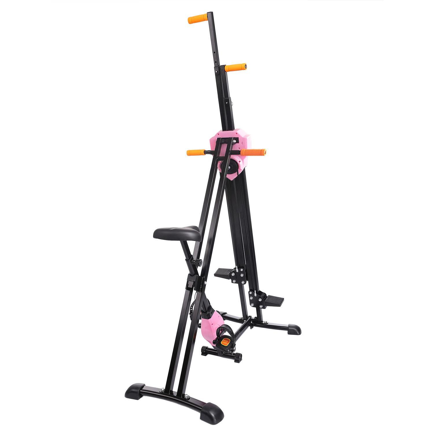 Vertical Climber Gym Exercise Fitness Machine Stepper Cardio Workout Training non-stick grips Legs Arms Abs Calf 3