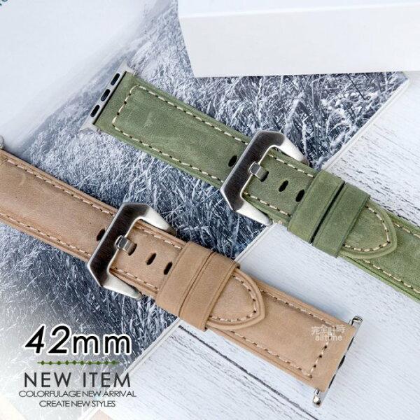 【完全計時】錶帶館│42mmApplewatch代用錶帶特殊蜂鳥紋錶帶iwatch代用錶帶