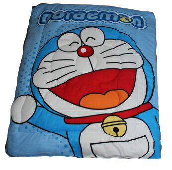 哆啦A夢 歡樂無限藍毯被暖暖被 ( 附專屬收納提袋 )【150 X 195 CM】