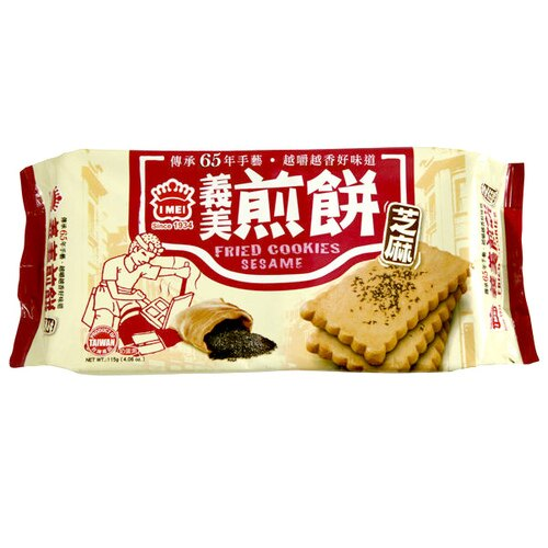 義美 芝麻煎餅 115g【康鄰超市】