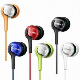展機出清,售完為止!SONY 繽紛色彩入耳式耳機 MDR-EX100LP 多種色彩繽紛百搭 精巧便攜音質絕佳(現貨藍色)