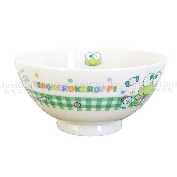 三麗鷗 大眼蛙 碗 飯碗 湯碗 陶瓷碗 餐具 正版日本製造進口 JustGirl