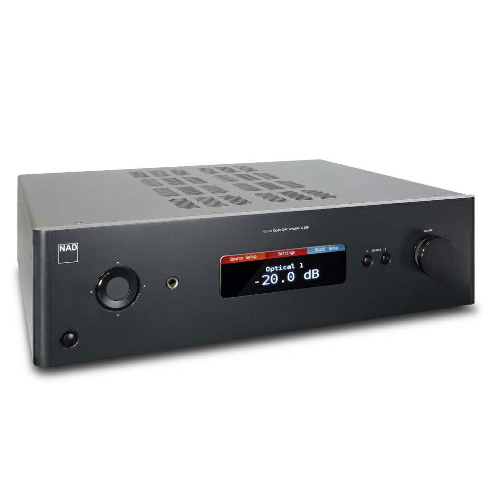NAD C388 數位/類比兩用綜合擴大機 數位流