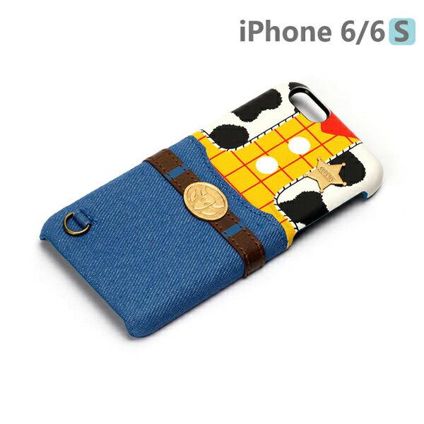 【日本 PGA-iJacket】UNISTYLE Disney 授權商品 iPhone 6/6s 專用手機殼 - Pixar 胡迪