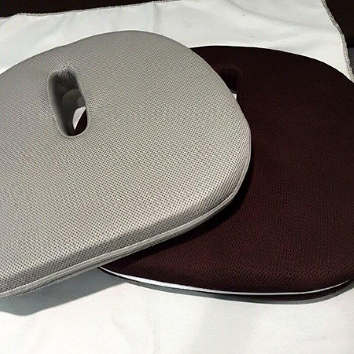 【手作逸品居家樂活館】椰棕遠紅外線護椎墊2(灰,棕) 430X400X45mm