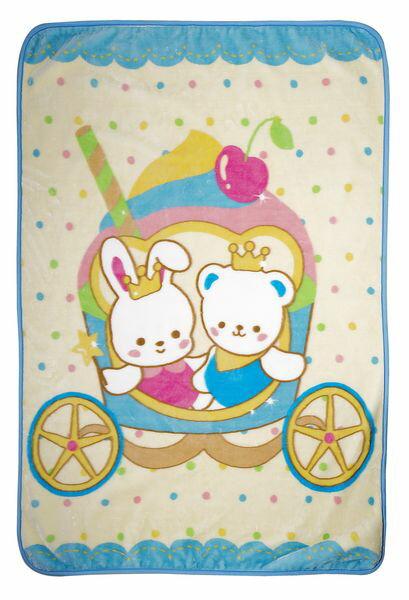 Baby City 娃娃城 - 輕柔觸感 馬車熊盒裝童毯 0