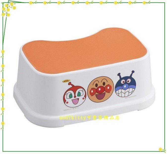 asdfkitty可愛家☆麵包超人防滑踏椅-浴室廚房都適用歐-上下都有止滑處理-日本製