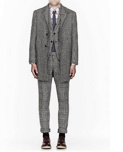 【JP.美日韓】韓國  千鳥格 明星 穿搭 西裝外套 質感 格子外套  格子 西裝