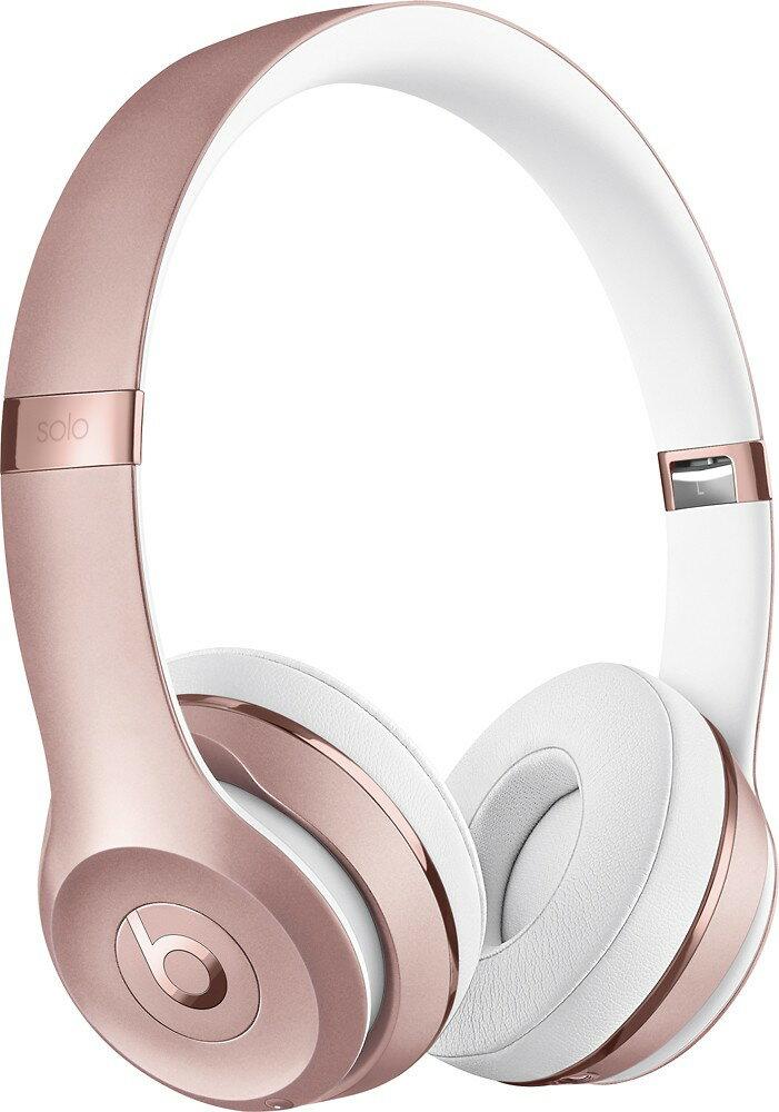Beats Solo3 Wireless On-Ear Headphones - Rose Gold 0