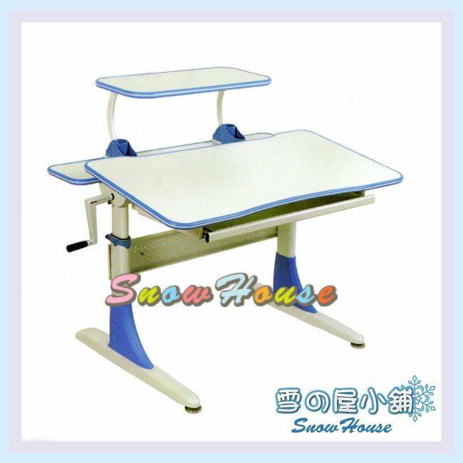 ╭☆雪之屋居家生活館☆╯R120-02 CT-808S-WBL兒童桌(白/藍/DIY自組/書桌/辦公桌/電腦桌/學生桌